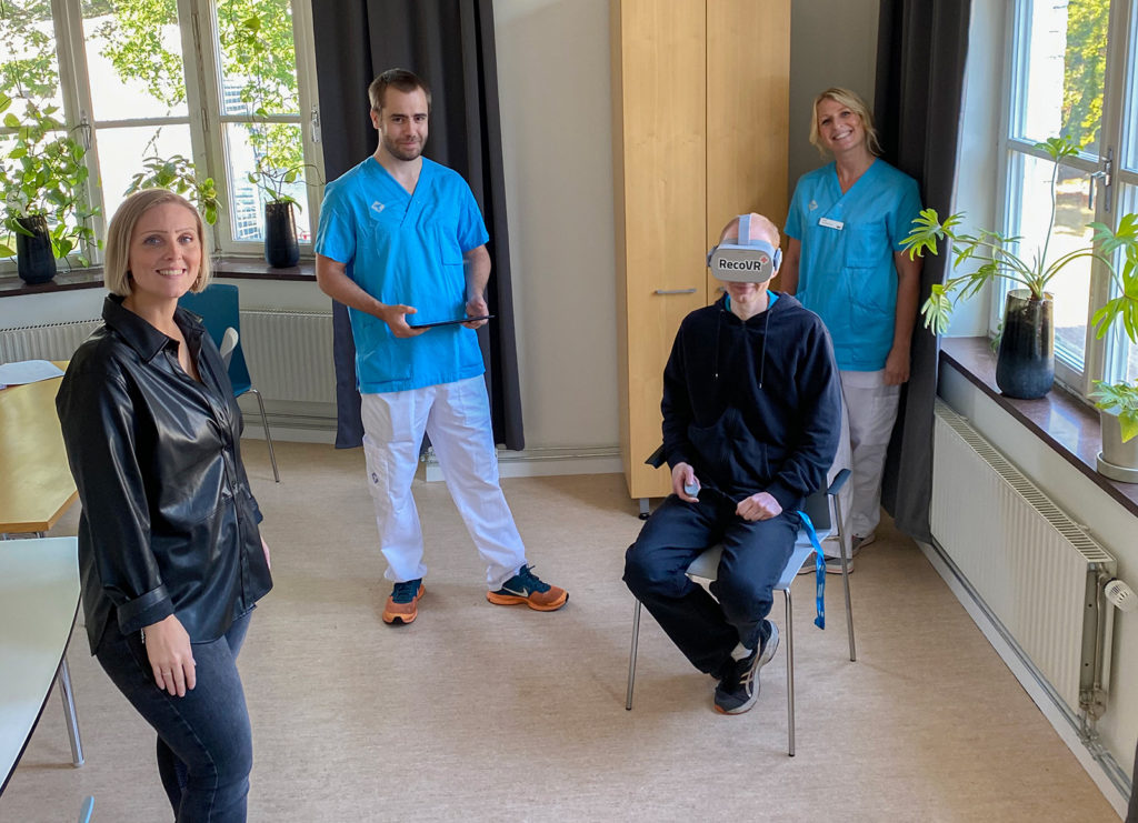 Blekinge Regional Council uses Virtual Reality in physical therapy